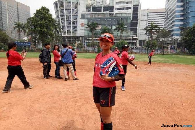 Asian Games 2018, softball, Cressida Mariska, venue Asian Games 2018