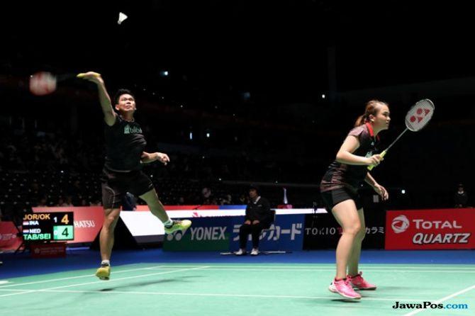 Jepang Terbuka 2018, Praveen Jordan/Melati Daeva Oktavanti, Indonesia, bulu tangkis