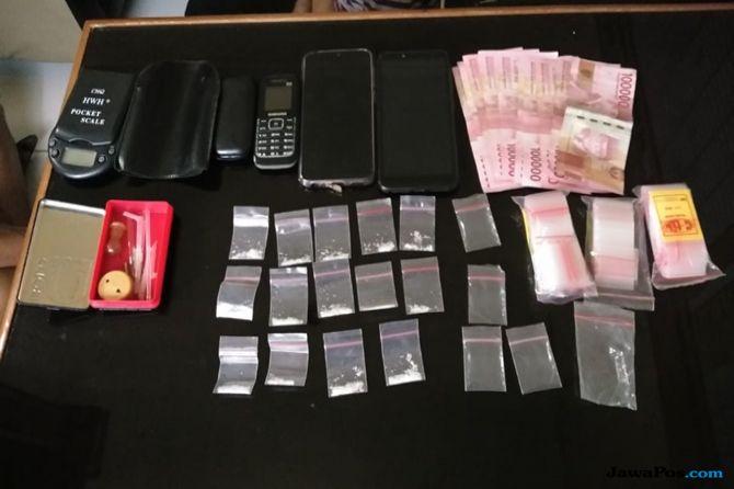 Berawal dari Kecurigaan Warga, Polisi Ringkus Dua Pengedar Sabu