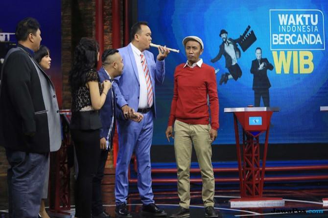 Syuting Variety show Waktu Indonesia Barat (WIB) di Studio Net TV