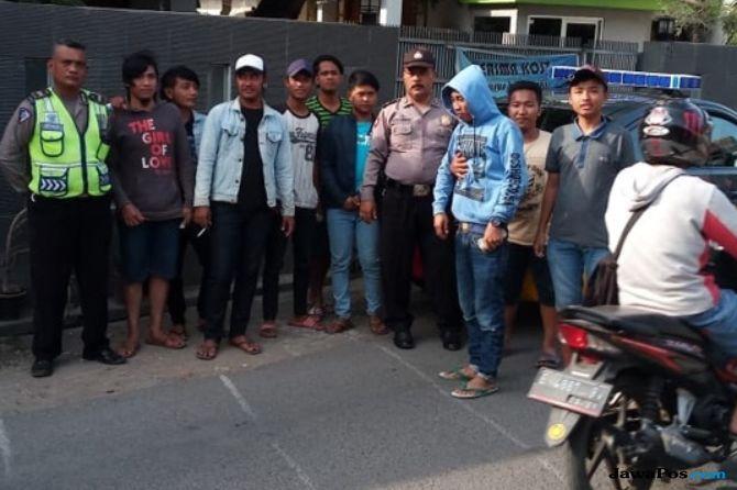 Berkedok Agustusan, 15 Pemuda Lakukan Pungli, langsung Dibekuk Polisi