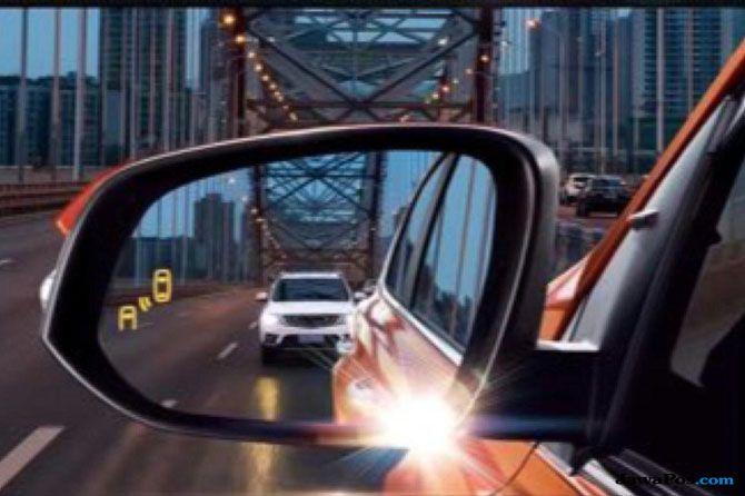 Berkendara Lebih Aman, Kaca Spion Ini Mampu Deteksi Blind Spot Mobil