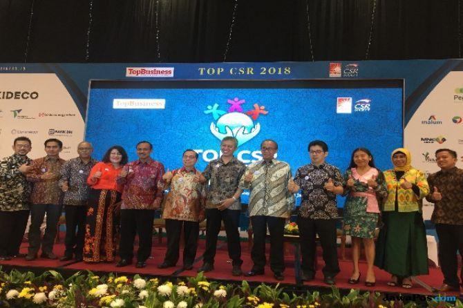 Berkontribusi Kepada Masyarakat, 72 Emiten Rebut TOP CSR 2018