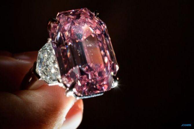berlian, berlian merah muda, karat,