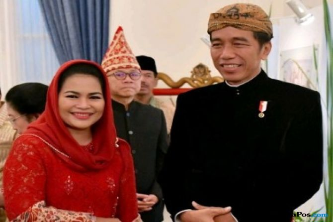 Bertemu Jokowi, Puti Diberi Semangat dan Diminta Jaga Pancasila