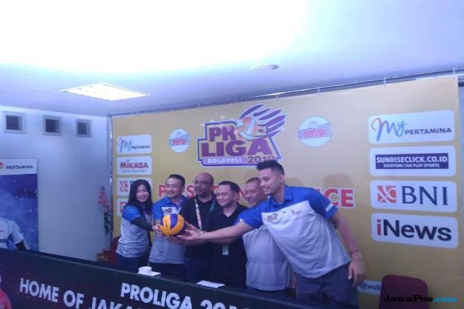 Proliga 2019, voli, PBVSI, Indonesia