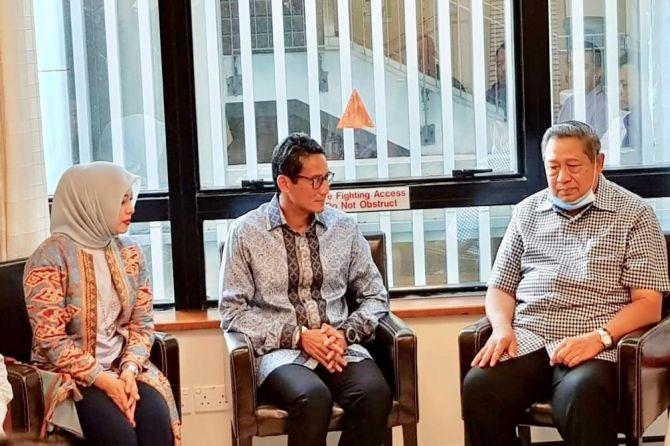 Sandiaga Uno dan SBY