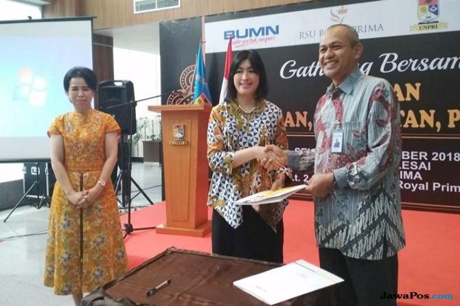 BBTN PRIM Bina Nasabah, BTN Berikan Kemudahan Karyawan UNPRI dan RS Royal Prima
