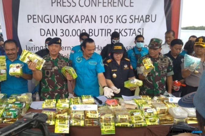 BNN Ungkap Cara Ibrahim Hongkong Kirim Narkoba Dari Malaysia