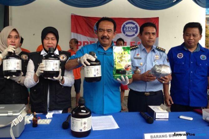BNN Ungkap Sindikat Narkoba Internasional Libatkan Napi, 1 Ditembak