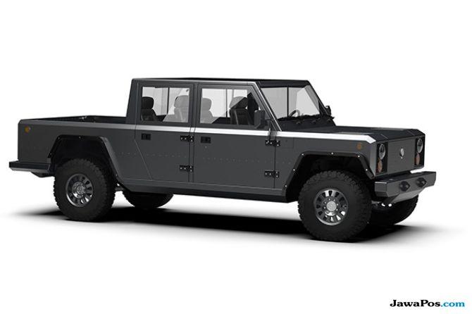 Bollinger Motors Produksi Truk Pick Up Listrik Pertama di Dunia