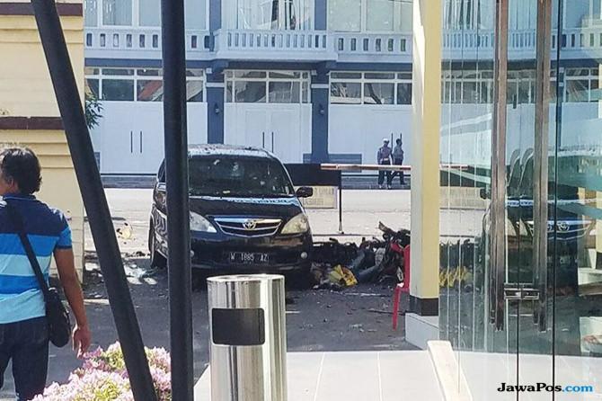 Bom Bunuh Diri itu Diduga dari Tamu yang Naik Motor
