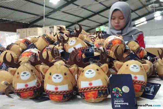 Boneka Maskot Asian Games Diproduksi di Malang 42b90dc653