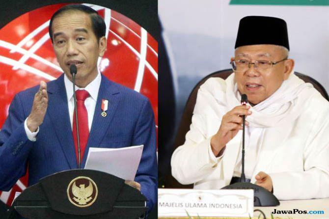 Breaking News: Jokowi Tunjuk Ma'ruf Amin Jadi Cawapres