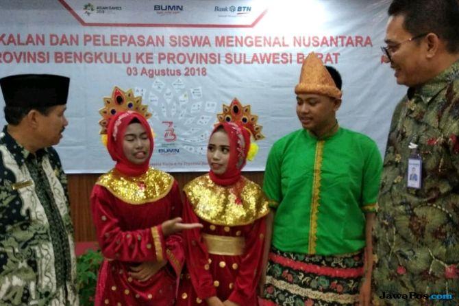 BTN Ajak Siswa Berprestasi Bengkulu Kenali Budaya Sulawesi Barat