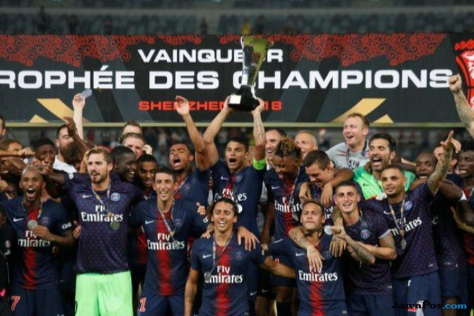 Piala Super Prancis 2018, PSG, AS Monaco, PSG 4-0 AS Monaco