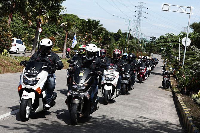 MASA Buktikan Ketangguhan Ban M5, JMC Touring Bareng Corsa