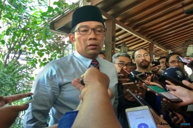 Bupati Cianjur Kena OTT KPK, Begini Respons Ridwan Kamil