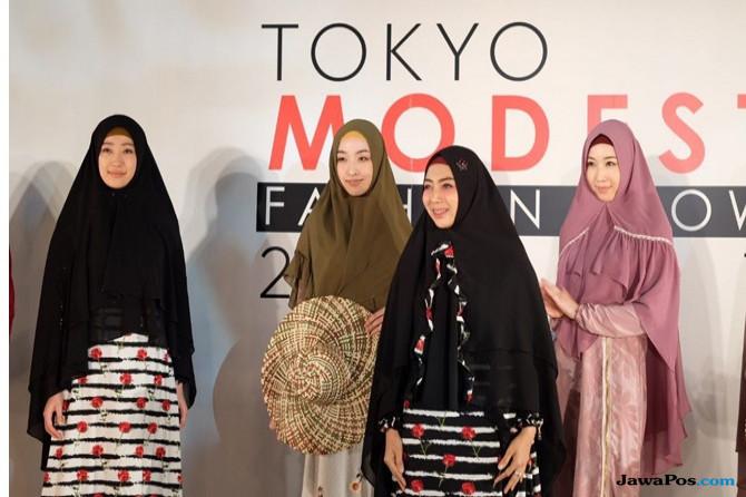 Brand Jawhara Syari saat tampil di Jepang.