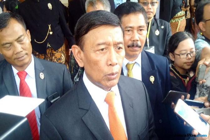 Menteri Koordinator Bidang Politik, Hukum, dan Keamanan (Menkopolhukam) Wiranto