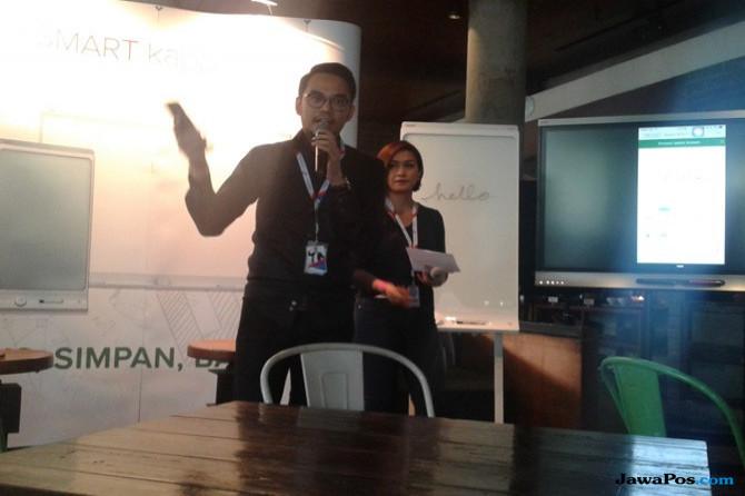 Canggih, Papan Tulis Digital Ramah Lingkungan Koneksi via Smartphone