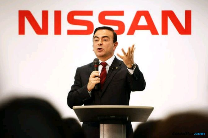 Carlos Ghosn Ditangkap, Harga Saham Nissan Anjlok 6 Persen