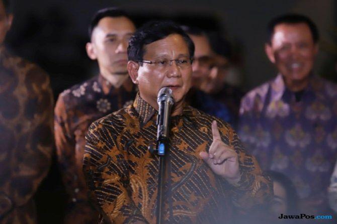 Cawapres Prabowo Akan Diumumkam Malam Sayyidul Ayyam