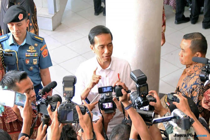 Cerita Kedatangan Jokowi di Balikpapan, Bongkar Dekorasi Pernikahan