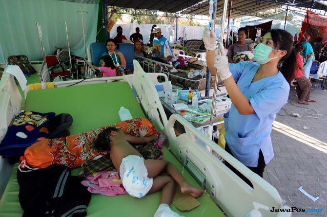 Cerita Sedih dari Dokter Relawan yang Menangani Korban Gempa Lombok