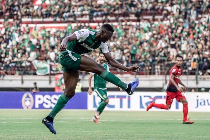 Persebaya Surabaya, Amido Balde, Persinga Ngawi, Djadjang Nurdjaman, Piala Indonesia