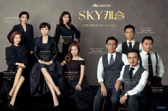 Cetak Rating Tinggi, Pemain Drama Sky Castle Dihadiahi Liburan Gratis