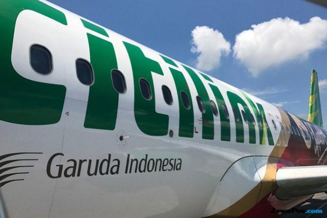 Citilink Tambah Extra Flight Angkut Penumpang Dari Lombok