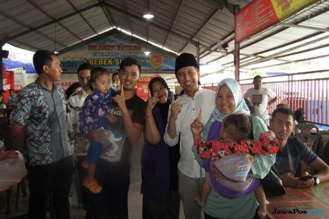 Dampingi SBY ke Madura, Emil Dardak Sihir Pemilih Pemula