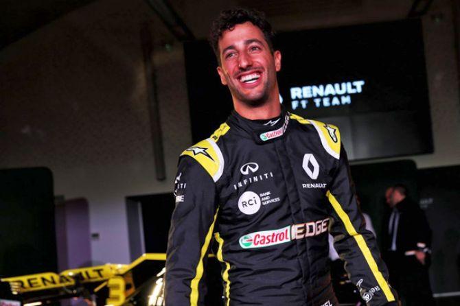 Formula 1, F1, Daniel Ricciardo