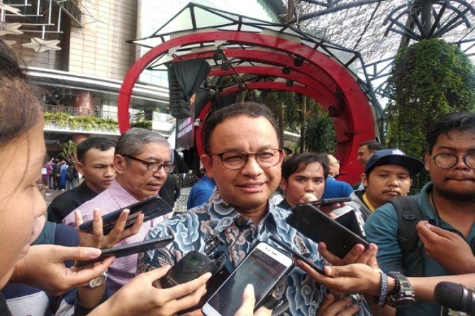 Dapat Kisi-Kisi, Anies Tinggal Tunggu Surat Dari Partai Soal Wagub DKI