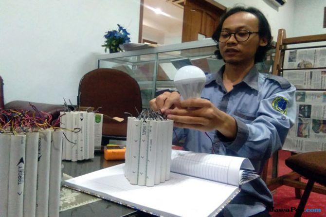 Mahasiswa USM Penemu Listrik dari Lumpur