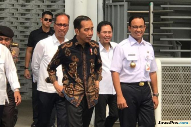 Datang ke Marunda, Jokowi Berpesan Warga Tidak Terpecah Karena Pilpres