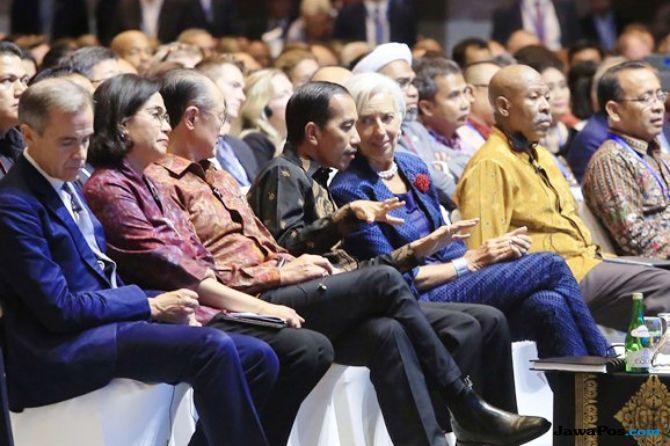 Delegasi Dunia Diklaim Puji Keberhasilan RI Selenggarakan IMF-WB 2018