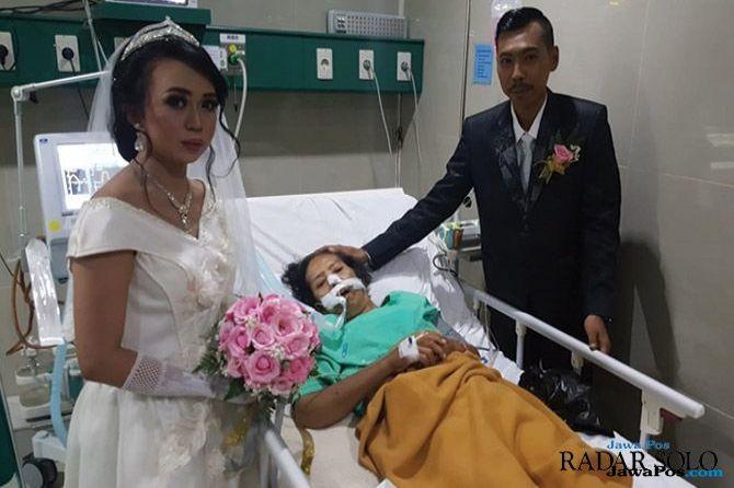 HEAL Demi Mewujudkan Mimpi Sang Ibu, Edwin Rela Nikahi Ria di Ruang ICU