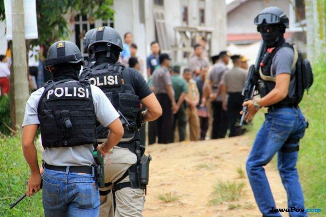 Densus Tangkap Seorang Perempuan Terduga Teroris di Klaten