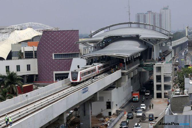 Depo Belum Rampung, Jakpro Klaim Sertifikasi LRT Jakarta Bakal Terbit