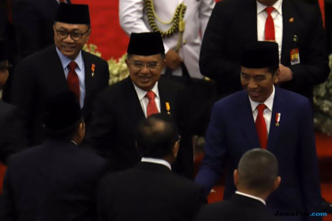 Di Depan Jokowi-JK, Zulhas Sampaikan Tiga Tantangan Perekonomian RI