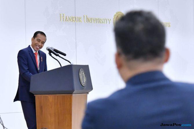 Di Depan Mahasiswa Korea, Presiden Jokowi Beri Tips Menjadi Pemimpin