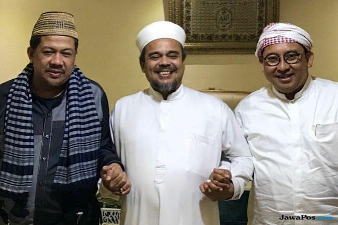 Fahri, Fadli dan Habib Rizieq