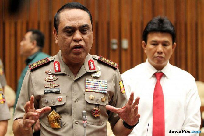 Diduga Dukung Salah Satu Paslon, Wakapolda Maluku Dicopot
