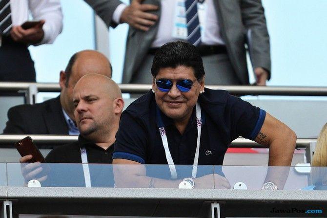 Diego Maradona, Timnas Argentina, Piala Dunia 2018