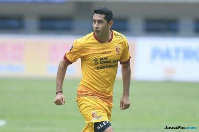 Bursa transfer, Sriwijaya FC, Persija Jakarta, Esteban Vizcarra