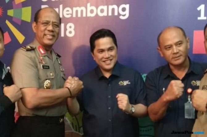 Dikabarkan Jadi Timses Jokowi-Ma'ruf Amin, Ini Tanggapan Erick Thohir