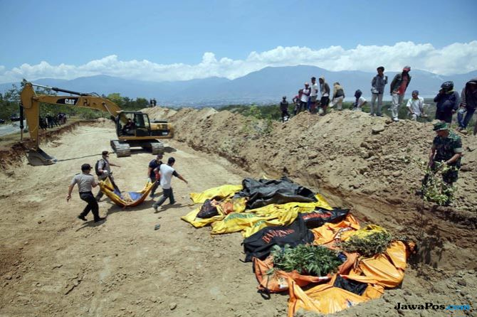 gempa sulawesi tengah, gempa palu, mayat gempa palu