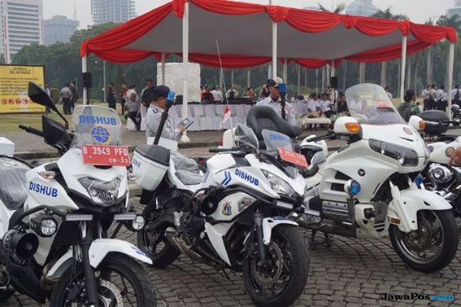 Dishub DKI Siapkan 425 'Moge' dan Ribuan Kendaraan